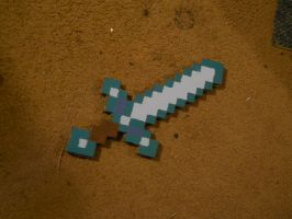 Minecraft Sword by Nara-Ousansamaki
