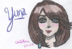 The Lady Yuna by cleris4ever