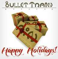 Happy Holidays from BulletTrain Studios by Bullettrainstudios