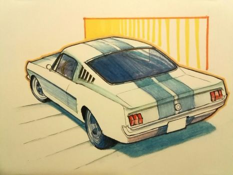 Ford Mustang '69 by jade-starck