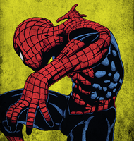Pjb47's Spider-Man Colored by centric-prometheus