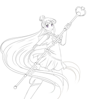+Sailor Pluto+ WIP by Amai--Kiss