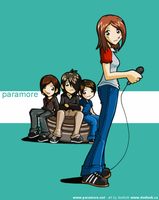 Paramore by desfunk