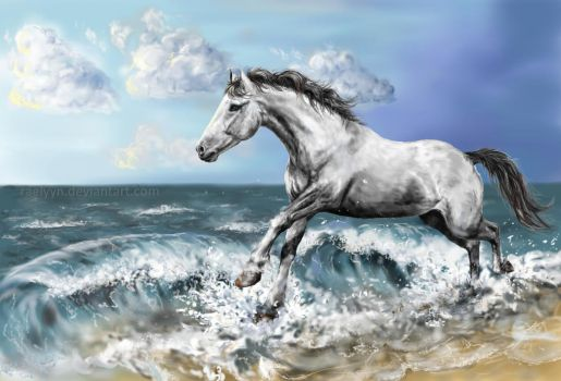 Race the Waves by Raelyyn