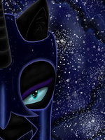 Nightmare Moon by CharlotteLaNoire