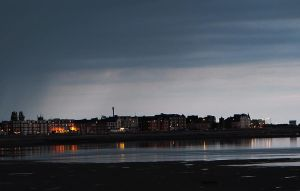 From Morecambe Promenade last night by MODDEYDOO