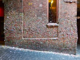 Seattle Gum Wall by Chiller252
