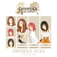 Dissidia Aces Cycle 02 - Preliminary Round by ephemeralvision