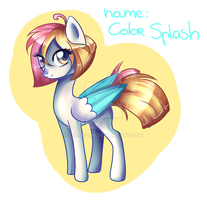 MLP Mare Point adopt (closed) by Lumicorn