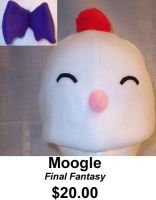 Moogle Hat by chibishinigami