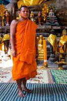 Bayon Monk by cwaddell