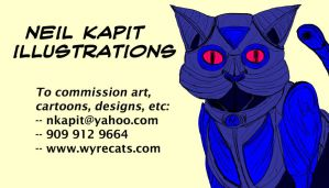 Business Card by WyreCats