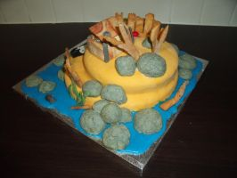 Pirate Island Cake 11 by BevisMusson