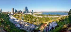 Galaxy S4 Panoramic of Perth Western Australia by RaynePhotography