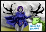 Raven and Beast Boy by adamantis