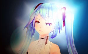 Random TDA Append Miku picture. by ElyStrife