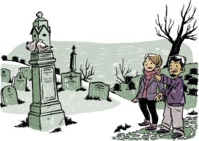 The Graveyard tour guide by mathieub