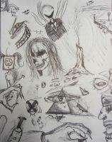 Depictions of a madman by lXxLinkinxXl