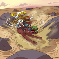 Desert Run by 8-Xenon-8