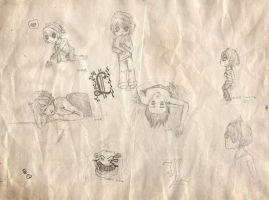 L doodle sheet by kitexx