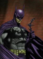 Dark Knight color by TMD by DONAHUE-t