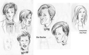 Doctor Who study by iliaskrzs
