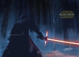 Star Wars: The Force Awakens by willrios
