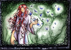 Morpheus and Butterflies by lyrae