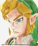 Angry Link - The Legend of Zelda: Skyward Sword by ChronicleArtist
