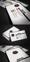 Simple Corporate Business Card by glenngoh