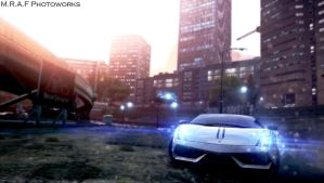 Need For Speed Most Wanted: Lamborghini Gallardo by MRAFPhotoworks