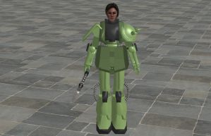 'TES4: Oblivion' Fly Armor XPS ONLY!!! by lezisell