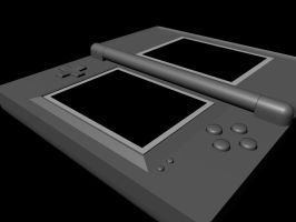 DS Lite Model - 1 by Wolf-Pup-TK