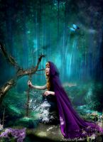 Lady of the woodland elves by designdiva3