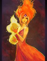 Flame Princess! by kathemo