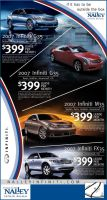 Infiniti Advertisment Design by xstortionist