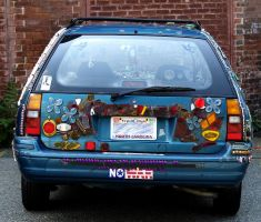 Pawtucket Decorated Ford II by 3dmirror-stock