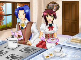 RA: Maid Event Cooking Collab by Mielluu