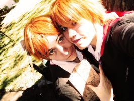 Fred and George Weasley by RyuuzakiCosplay