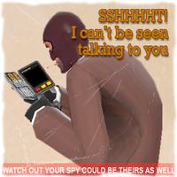 TF2 spy spray by RJD37