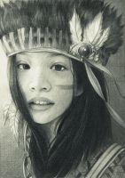 Tribal Girl by Phong98