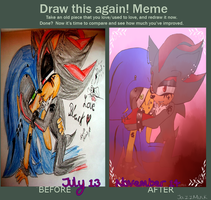 :sonadow: DrAw this again -Black Love by Jazz-M-Ink