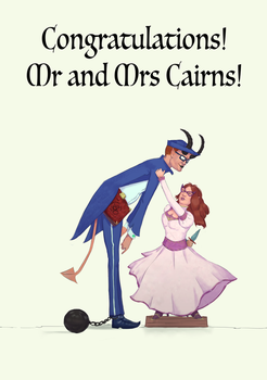 Mr and Mrs Cairns by michael-jones