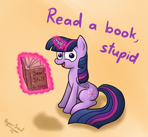 Princess Twilight's Friendly Advice by FilPaperSoul