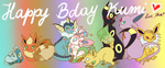 :KoT: Eeveelutions by chiapple
