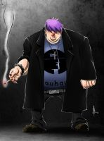 Goth/Emo Gang Character Color by feeesh