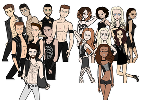 ANTM Cycle 20 Cast by TDIartist12
