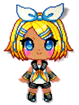 Rin Kagamine by Aenea-Jones