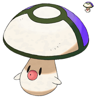 Pokemon 5G Shiny Foongus by etherspear