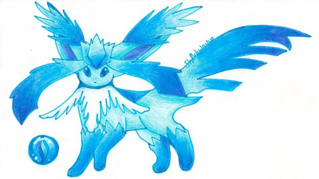 Mega Glaceon (revamp)! by Sh0ckwavve
